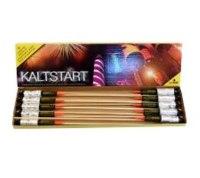 Kaltstart, 10-tlg. Gold-Raketensortiment