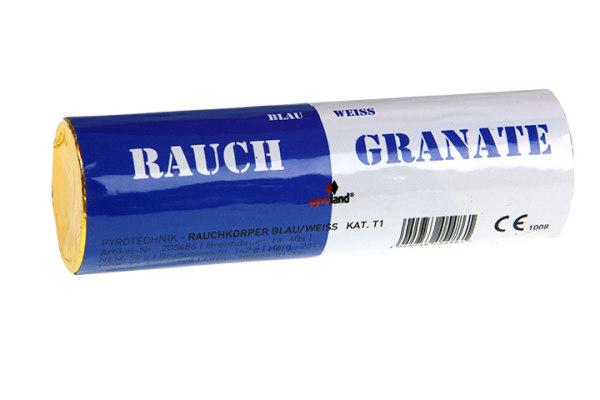 Rauchgranate Blau/Weiß, Doppelrauch T1