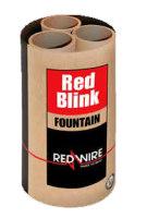 Red Blink Blink-Fontäne