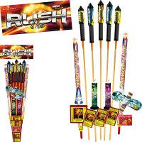 The Rush Feuerwerk-Sortiment Familiensortiment