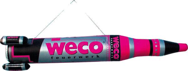 WECO Werbe - Rakete, aufblasbar
