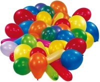Amscan Luftballon 10er farblich sortiert