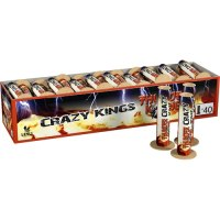 Crazy Kings Single Shots, 40er-Schachtel