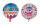 "Folienballon ""Happy Birthday"" ca. 45 cm"