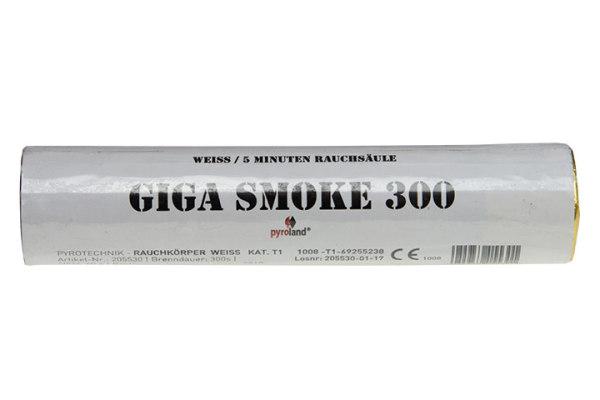 Giga Smoke Weiß, 5 Minuten, T1
