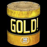 Gold, 10-Schuss-Batterie